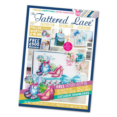 Tattered Lace Magazine Issue 66 with ' Just Need the Hat '  Die