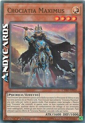 CROCIATIA MAXIMUS (Crusadia Maximus) • Super R • CYHO IT010 • Yugioh! ANDYCARDS