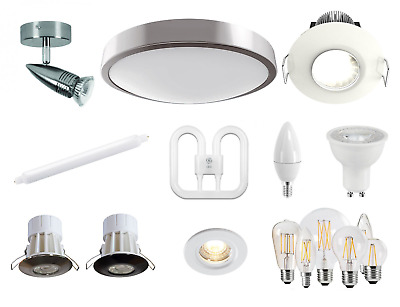 Bathroom Lighting LED Or Fluorescent / Ceiling Downlights With Lamps