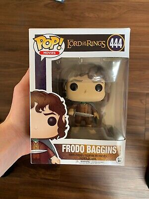 The Lord of the Rings Frodo Baggins Vinyl Figure Item #13551 Funko Pop Movies