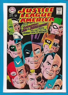 Justice League Of America #61_March 1968_Very Fine_Penguin_Captain Boomerang!