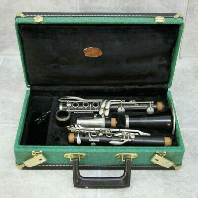 Noblet Paris Clarinet w/ Green Carrying Case