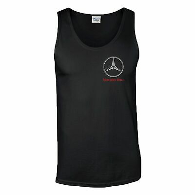 Mercedes-Benz Logo Vest Mercedes Benz F1 MotoGP Motorsport Racing Men Tank Top