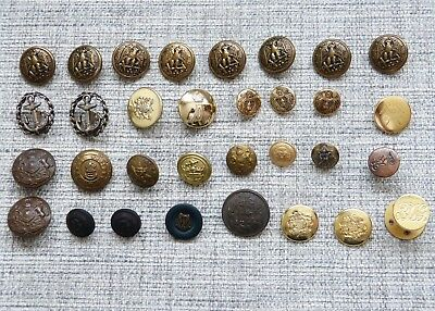 French Military Buttons