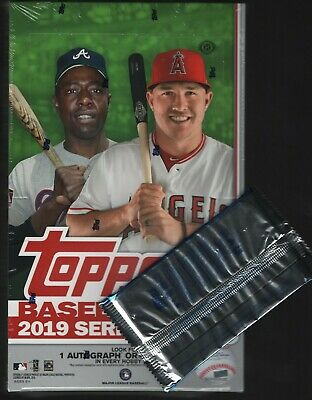 IN STOCK 2019 Topps Series 2 Baseball Factory Sealed Hobby Box + 1 Silver Pack