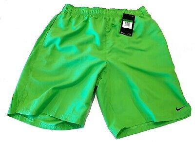 144fd56238 NWT NIKE Men's Volley Swim Trunks Board Shorts Green $48 Large #NESS8511-386
