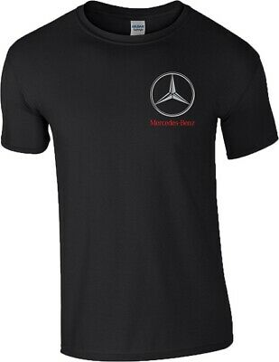 Mercedes Benz Logo T Shirt Motorsport F1 Racing MotoGP Gift Mens Size S-5XL Top