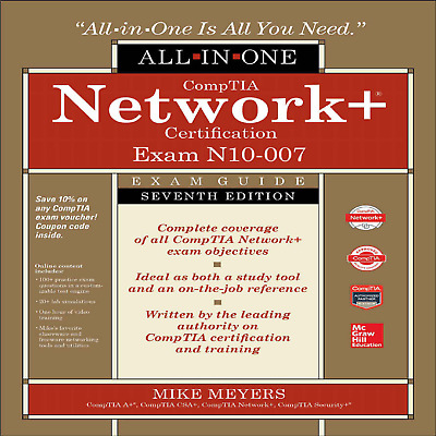 CompTIA Network+ N10-007 All-in-One Certification Exam Guide 7th(E-B00K)🎁+ GIFT