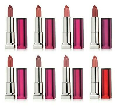 MAYBELLINE Colour Color Sensational Matte Satin Lipstick *CHOOSE YOUR SHADE*