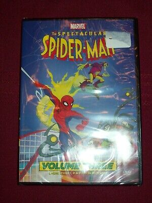 The Spectacular Spider-Man: Vol. 3 (DVD, 2009) Contains Episodes 7 8 9 TV Series