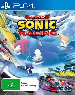 Team Sonic Racing PS4 Playstation 4 Brand New Sealed