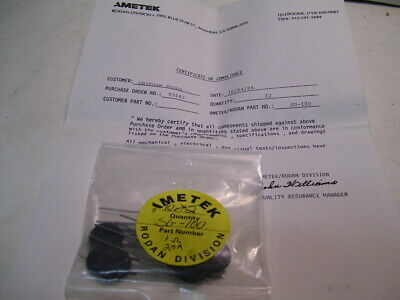 New 10Pcs Ametek Rodan Sg100 Surge-Guard Thermister 1 Ohm / 20A P3650