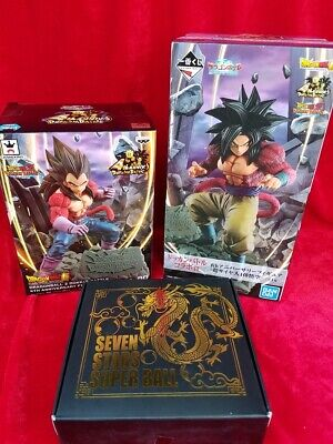 DragonBall Ichibankuji Dokkan battle prize 4th Anniversary Figure Super Saiyan4G
