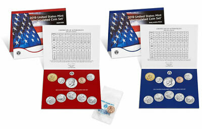 2019 P&D Uncirculated Mint Set + 2019-W Uncirculated Lincoln Cent