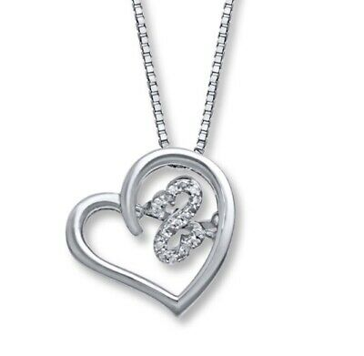 3369f30b1 Kay Jewelers Open Hearts Rhythm Diamond Accents Sterling Silver Necklace