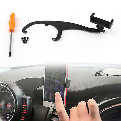 Union Jack Smartphone Cell Phone Mount Holder For BMW Mini Cooper R55 R56 GY PY