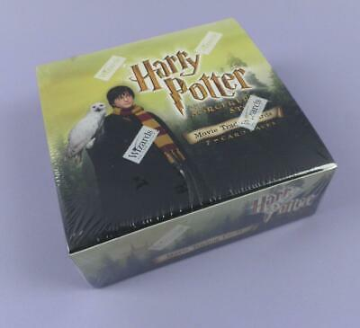 Harry Potter And The Sorcerers Stone Movie Trading Cards Sealed Box of 36 Packs