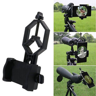 Universal Mobile Phone Holder Clamp Spotting Scope Cellphone Adapter Mount zxc