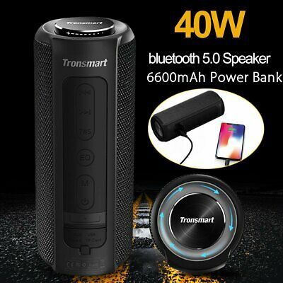 Tronsmart Element T6 Plus 40W bluetooth 5.0 Stereo Speaker Waterproof Subwoofer