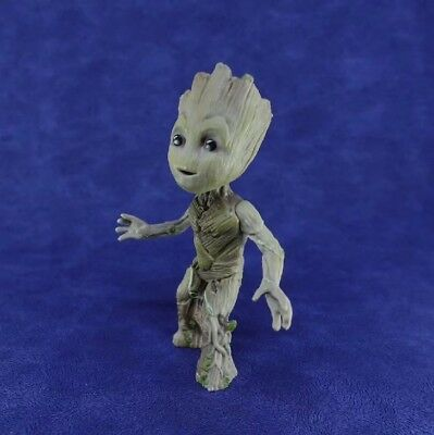 1x Cute Guardians of The Galaxy Vol 2 Baby Standing Groot Figure Toy Xmas Gift