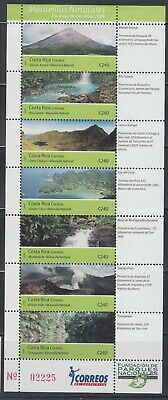 Costa Rica 2009  National Parks Sc 630 complete mint never hinged