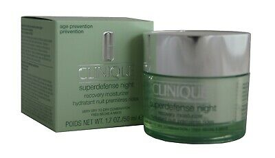 CLINIQUE superdefense night recovery moisturizer 50ml. 1, 2