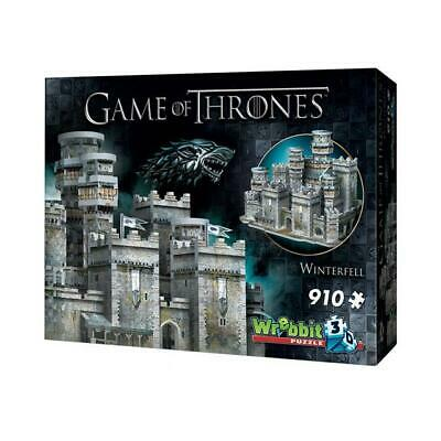 New 3D Puzzle Game Of Thrones Winterfell 910 Pcs