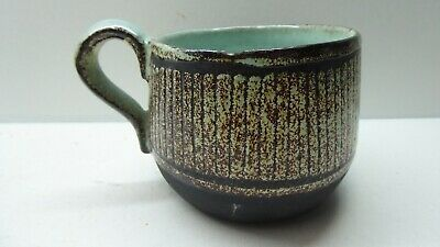David Hermia Boyd Teacup Australian Studio Pottery Signed A/F