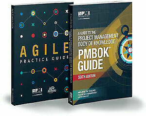PMI PMBOK Guide 6th Edition 2018 & Agile Practice Guide + free Bonus PDF