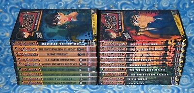 18 DVD Discs 80 Episodes Case Closed Detective Conan Funimation Excellent USA