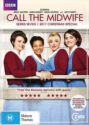 Call The Midwife Series : Season 7 + Christmas Special : NEW DVD