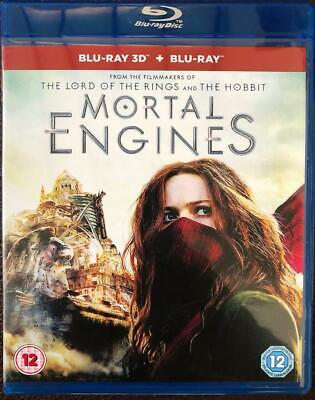 MORTAL ENGINES  3D Blu-ray RGION FREE