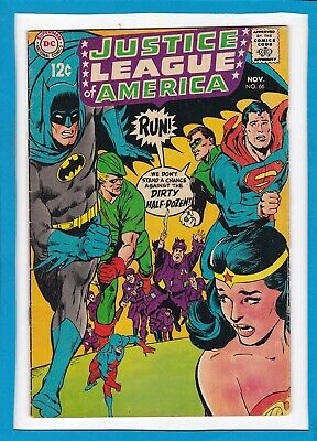Justice League Of America #66_November 1968_Fine+_Batman_Superman_Wonder Woman!