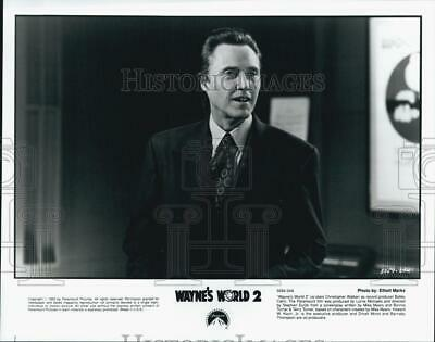 1993 Press Photo Wayne's World 2 Christopher Walken - DFPG78937