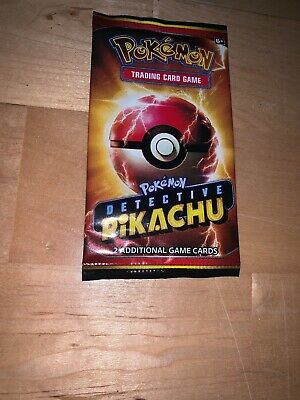1x DETECTIVE PIKACHU Movie Booster Pack Limited Edition