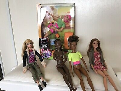 Barbie Made to Move Doll Lot