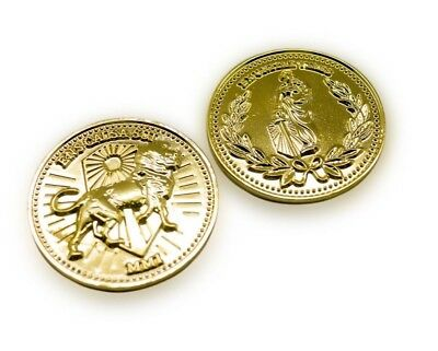 John Wick Continental Hotel Gold Coin Replica Accurate High Quality