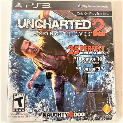 Ps3 Uncharted2 Among Thieves Video Game