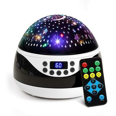 2019 Newest Baby Night Light, AnanBros Remote Control Star Projector, Black