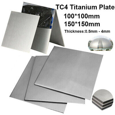 TC4 Titanium Plate Alloy Grade 5 Panel Metal Sheet 0.5mm 0.8 1 1.5 2 2.5 3 4mm