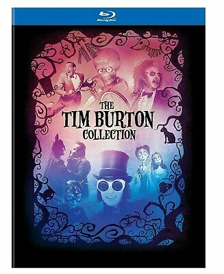 Tim Burton Collection (Blu-ray Disc, 2012, 7-Disc Set, With Book)