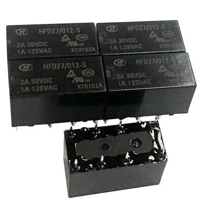 12V Subminiature PCB Power Relay 5A SPDT HF32