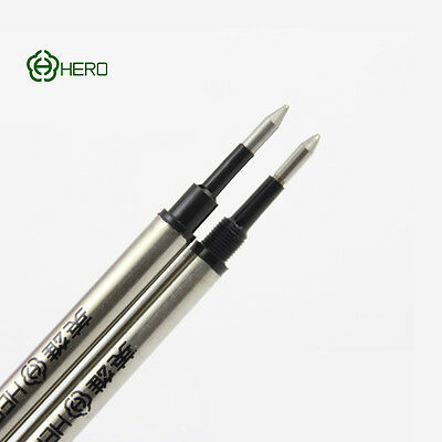 HERO 233A Rollerball Refills Black Ink Universal Standard 11.1cm Plug Screw Type