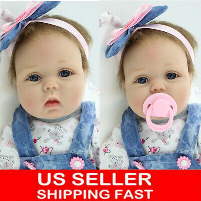 22Inch Life Like Real Reborn Baby Doll Realistic Looking Baby Girl Toddler 2019