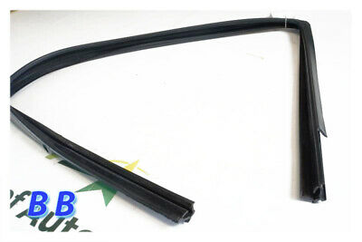 Weatherstrip Window Glass Run Channel Pair Front for Bronco F150 F250 F350 F450