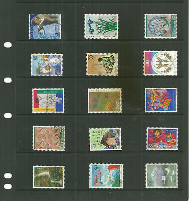 Japan  3  stock sheet mixed collection stamps