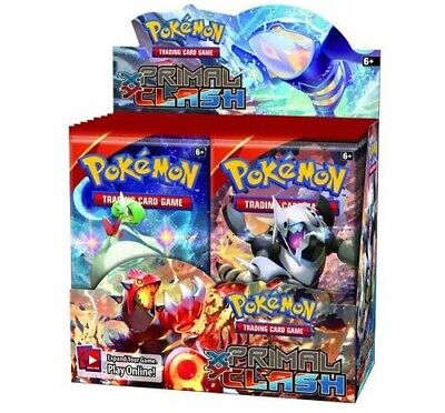 Pokemon TCG x4 Booster Packs XY Primal Clash 1/9 Booster Box Unsearched SKU#275