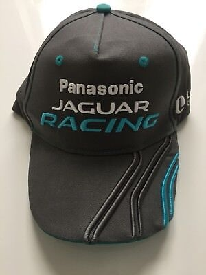 Bnwt High Quality Formula-E Jaguar Racing Cap Grey