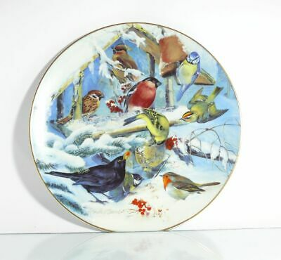 Collection Plate Hutschenreuther Birds Finale with the Flock with Certificate