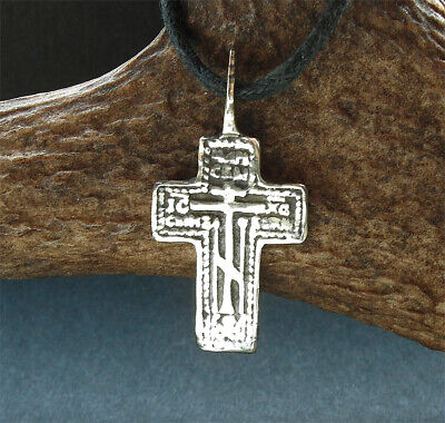 BEAUTIFUL POST MEDIEVAL BRONZE CROSS PENDANT - wearable